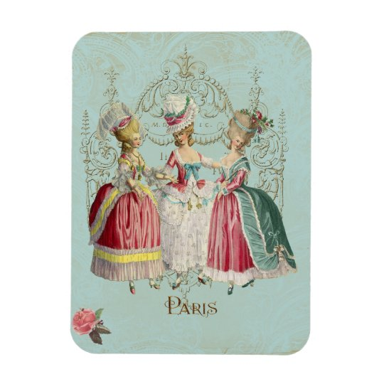Marie Antoinette Ladies Rectangular Photo Magnet