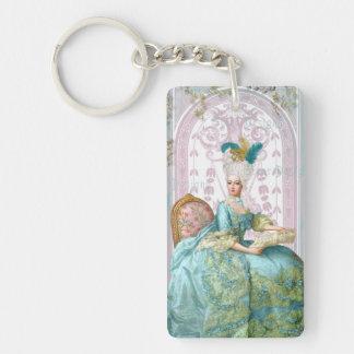 Marie Antoinette Let them Eat Cake Keychain