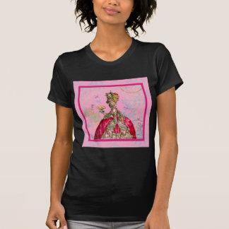 Marie Antoinette Let them eat cake & Peacock T-Shirt