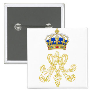 Marie Antoinette Monogram Buttons