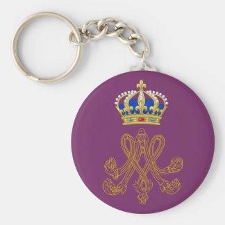 Marie Antoinette Monogram Keychains