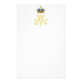 Marie Antoinette Monogram Stationery