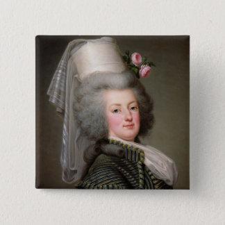 Marie-Antoinette  of Habsbourg-Lorraine 15 Cm Square Badge