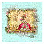 Marie Antoinette Party at Versailles Stationery Custom Announcements