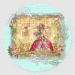 Marie Antoinette Party at Versailles Stickers Tags