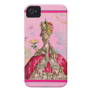 Marie Antoinette & Peacock iPhone 4 Case