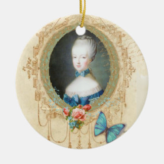 Marie Antoinette Portrait Christmas Ornament