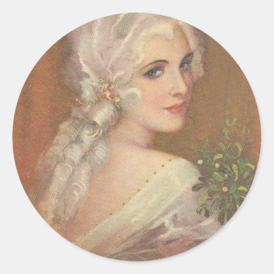 Marie Antoinette Portrait sticker