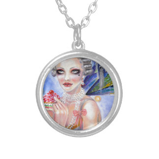 Marie Antoinette - Queen of Cupcakes Necklaces