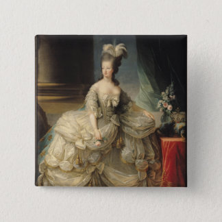 Marie Antoinette  Queen of France, 1779 15 Cm Square Badge