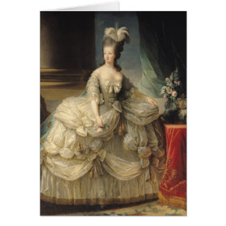 Marie Antoinette  Queen of France, 1779 Card