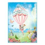 Marie Antoinette Tea at Versailles Lawn Party 13 Cm X 18 Cm Invitation Card