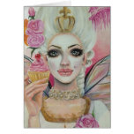 Marie Antoinette - the cupcake queen Greeting Card