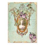 Marie Antoinette Versailles Ancient Gardens 5 x 7 13 Cm X 18 Cm Invitation Card