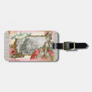Marie Antoinette & Versailles Custom Luggage Tag