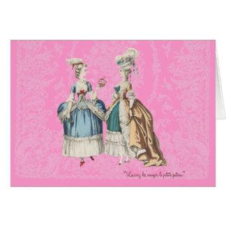 Marie Antoinette Vintage Series - ... - Customised Card