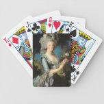 Marie Antoinette with a Rose, 1783 Bicycle Playing Cards