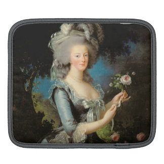 Marie Antoinette with a Rose, 1783 iPad Sleeve