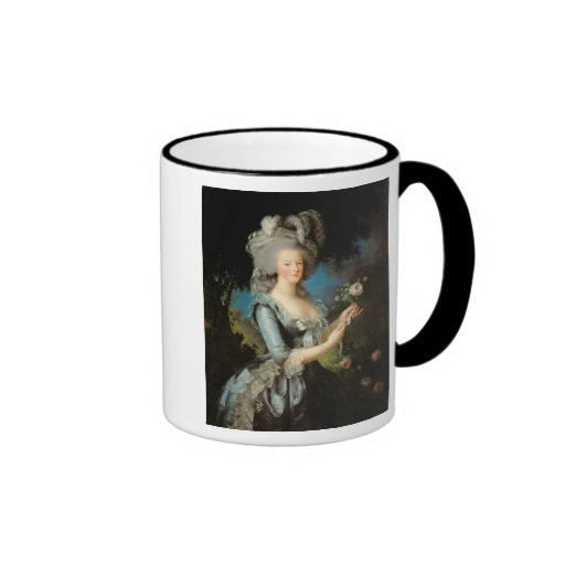 Marie Antoinette  with a Rose, 1783 Mugs