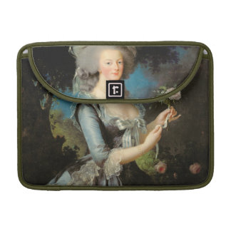Marie Antoinette with a Rose, 1783 Sleeve For MacBook Pro