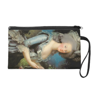 Marie Antoinette with a Rose, 1783 Wristlet Clutch