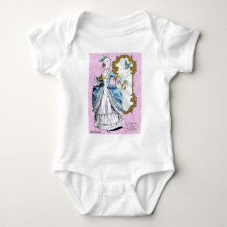 Marie Antoinette with Bluebird Baby Bodysuit