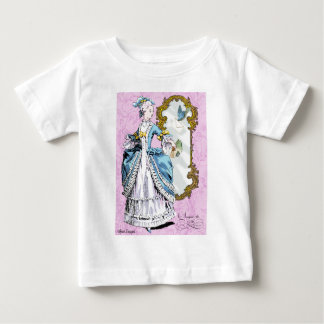 Marie Antoinette with Bluebird Baby T-Shirt