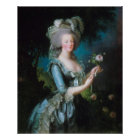 Marie-Antoinette with the Rose by Elisabeth Lebrun Poster