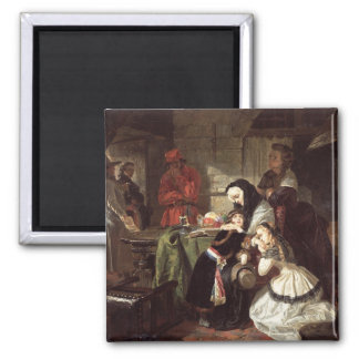Marie-Antoinette's (1753-93) Final Adieu to the Da Square Magnet