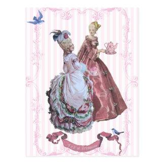 Marie AntoinetteTea at Trianon Postcards