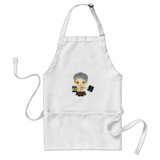 Marie Curie Standard Apron