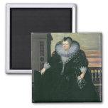 Marie de Medici  Queen of France, 1617 Magnet