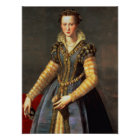 Marie de Medici , wife of Henri IV of France Poster