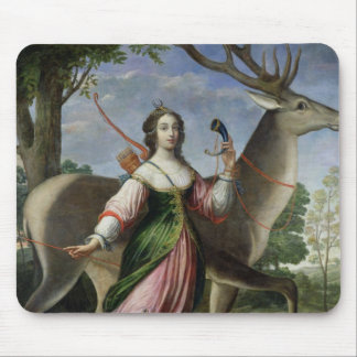 Marie de Rohan-Montbazon  Duchess of Chevreuse Mouse Mat