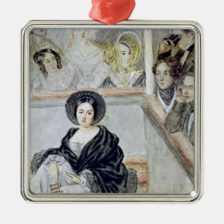 Marie Duplessis  at the Theatre Christmas Ornament