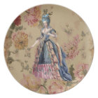 Marie French plate