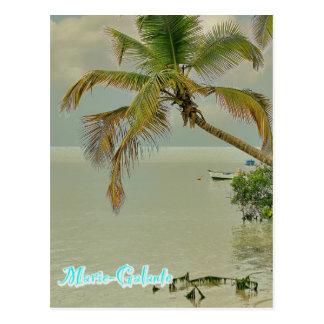 Marie-gallant, beach post card
