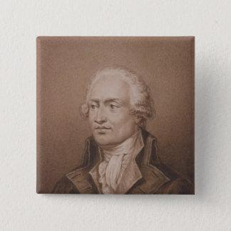 Marie Jean Antoine Nicolas de Caritat 15 Cm Square Badge