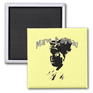 Marie Laveau Square Magnet