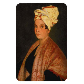 Marie Laveau: The Voodoo Queen Rectangular Photo Magnet