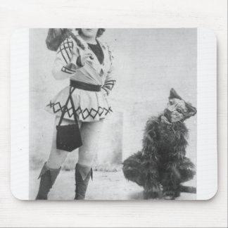 Marie Lloyd  as Dick Whittington in 1898 Mouse Mat