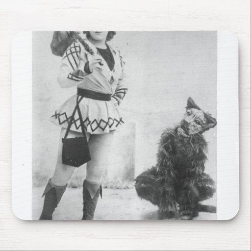 Marie Lloyd  as Dick Whittington in 1898 Mousepads