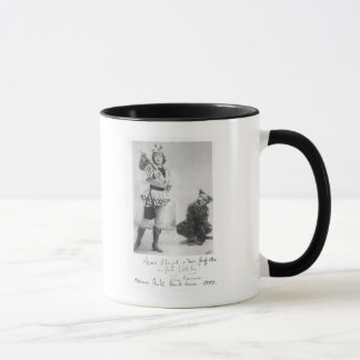 Marie Lloyd  as Dick Whittington in 1898 Mug