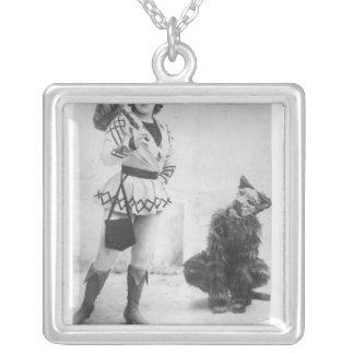 Marie Lloyd  as Dick Whittington in 1898 Pendant