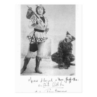 Marie Lloyd as Dick Whittington in 1898 Post Card