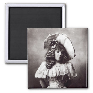 Marie Lloyd Square Magnet
