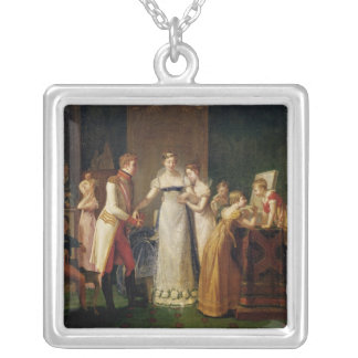 Marie-Louise Austria Bidding Farewell her Silver Plated Necklace
