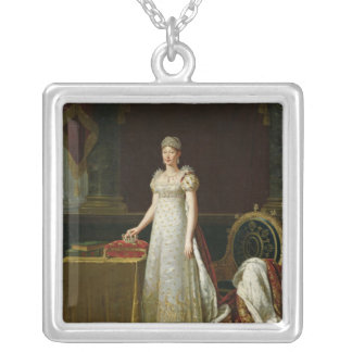 Marie-Louise  of Habsbourg Lorraine, 1814 Silver Plated Necklace