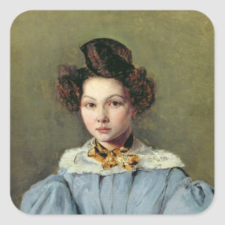 Marie Louise Sennegon, 1831 Square Sticker