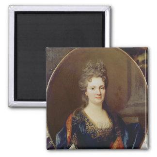 Marie Marguerite Arouet , c.1700 Square Magnet
